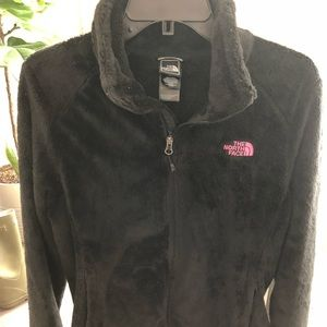 Women's North face zip up Breast Cancer edition L